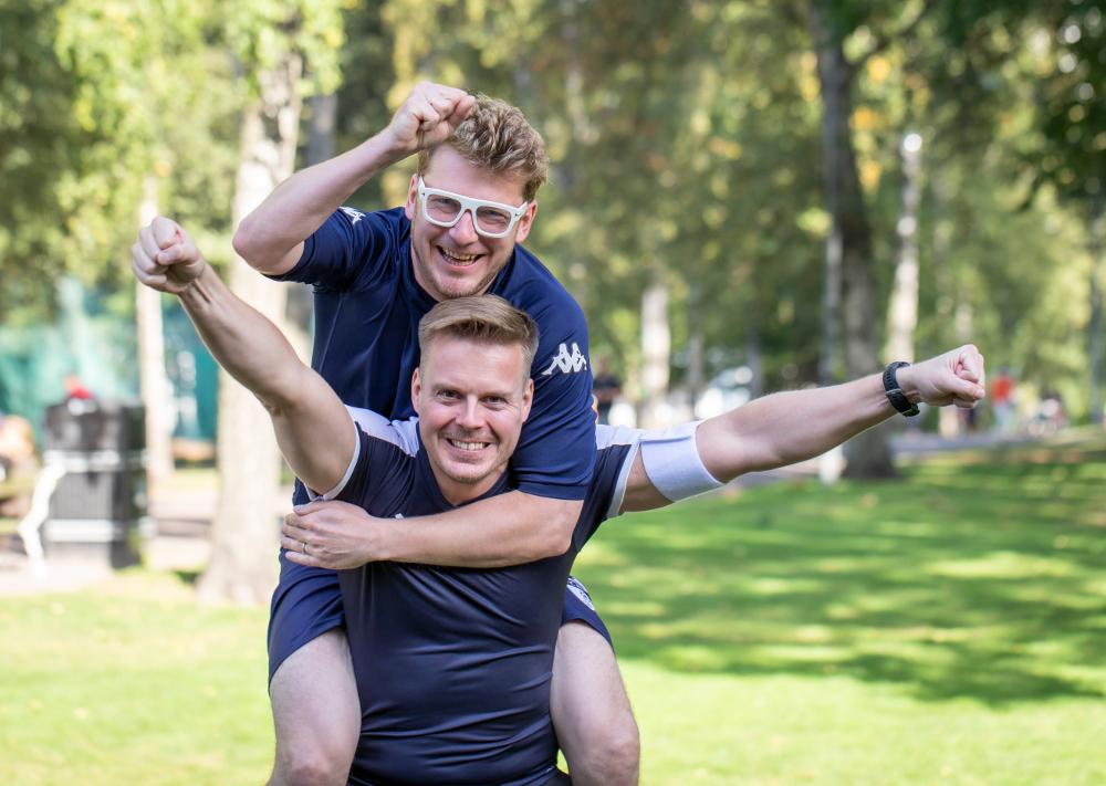 Sievo co-founders Matti Sillanpää and Sammeli Sammalkorpi